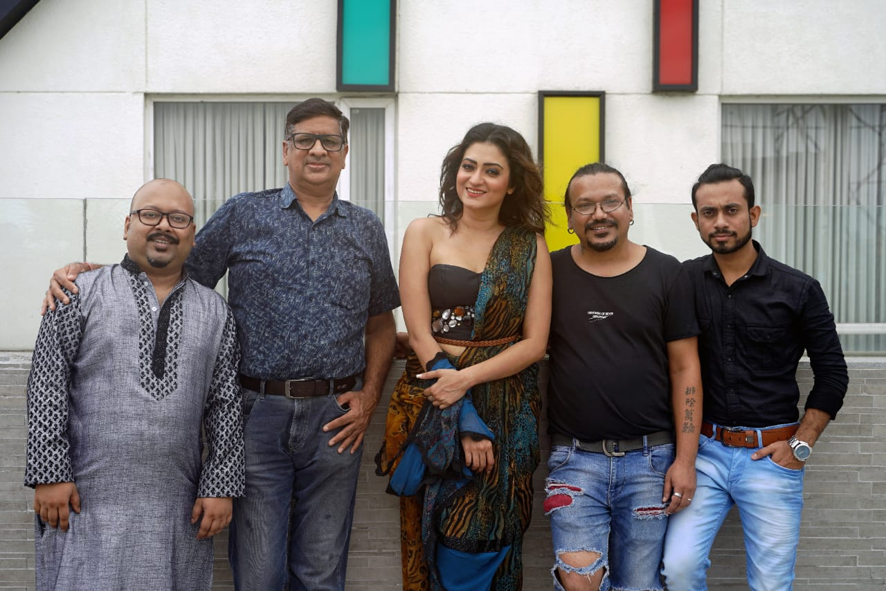 Actress Priyanka Rati Pal shoots the cover for well-known city magazine