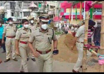 বিধানগরে পুজো মন্ডপ পরিদর্শন করলেন নগরপাল